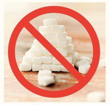 Причины отказа от сахара