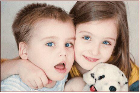 Дети - брат и сестра