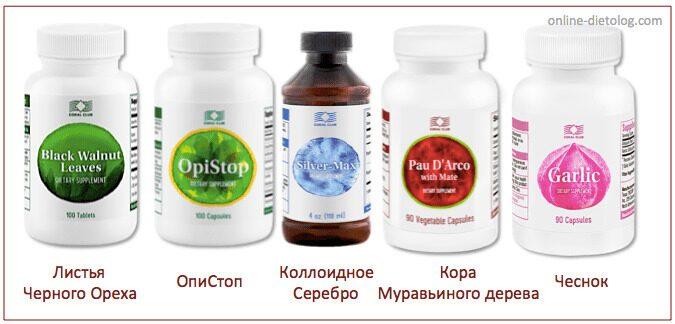 Антипаразитарная программа для взрослых. Натуральные продукты против глистов